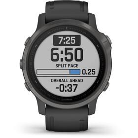 Garmin Fenix 6S Sapphire Multisport GPS Smartwatch, black